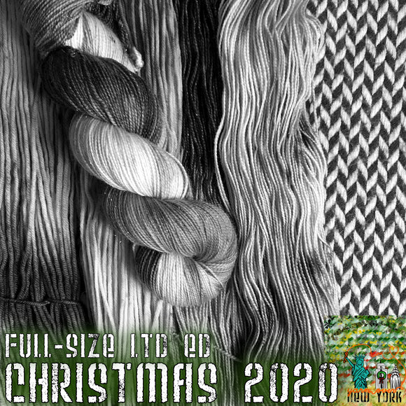 CHRISTMAS 2020 -- Limited Edition -- pre-order hand-dyed yarn