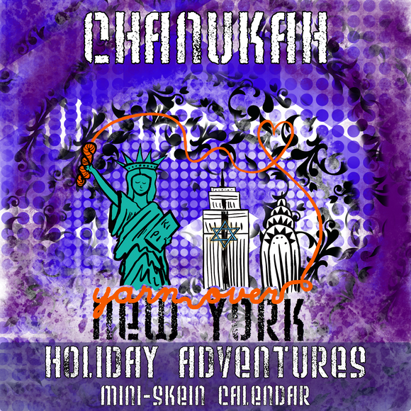 Holiday Adventures: Chanukah *Mini-Skein Mystery Set* -- pre-order yarn