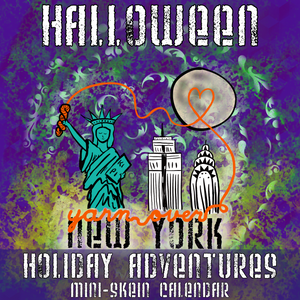 Holiday Adventures: Halloween *Mini-Skein Mystery Set* -- pre-order yarn