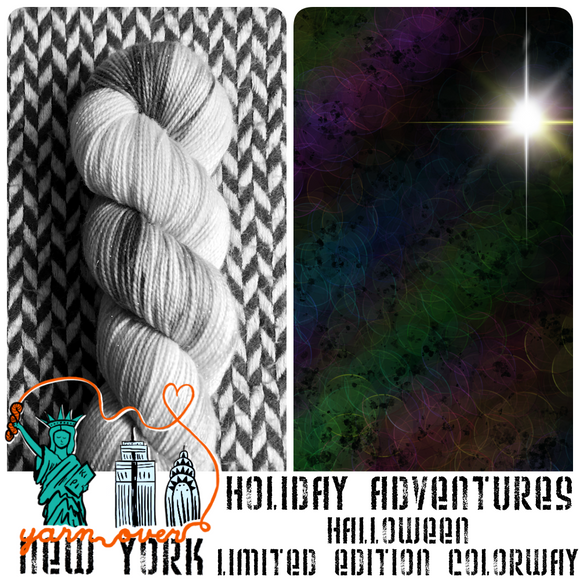 HALLOWEEN 2021 -- Limited Edition -- pre-order hand-dyed yarn