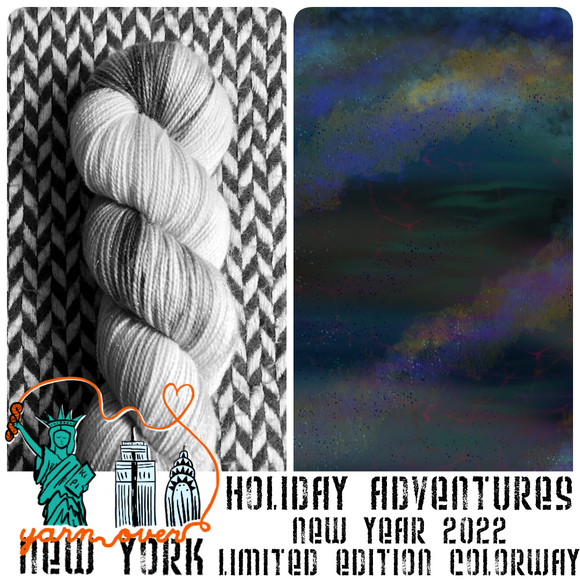 NEW YEAR 2022 -- Limited Edition -- pre-order hand-dyed yarn