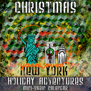 Holiday Adventures: Christmas *Mini-Skein Advent Set* -- pre-order yarn