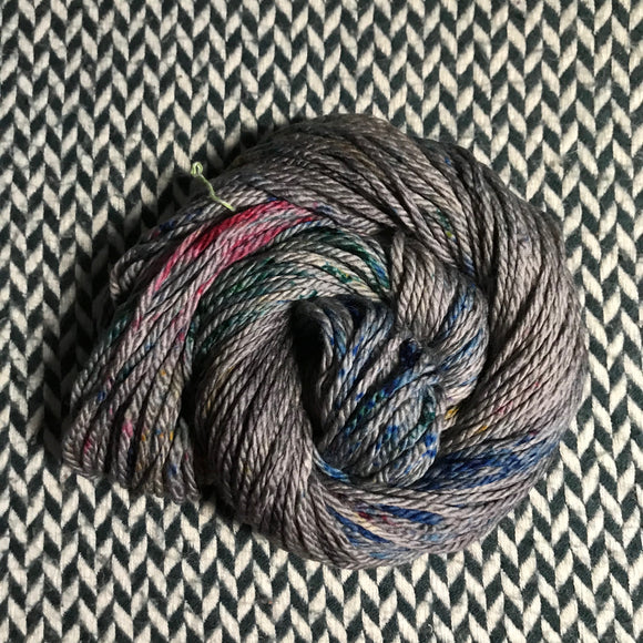 BEJEWELED SLATE -- Flushing Meadows bulky weight yarn -- ready to ship