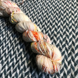 MY FAVORITE DRUMMER -- Half-Skein -- Times Square sock yarn -- ready to ship