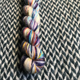 SOUL MELT -- Half-Skein -- Broadway sparkle sock yarn -- ready to ship