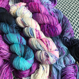 "SUMMER BY THE LAKE TRIO ""The Schuyler Sisters""  *3 Skein Set* -- DK yarn -- ready to ship"
