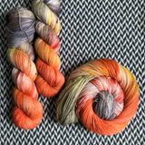 SUGAR MAPLE FAIRY -- Times Square sock yarn -- ready to ship