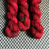 THE BIG APPLE -- Alphabet City tweed sock yarn -- ready to ship