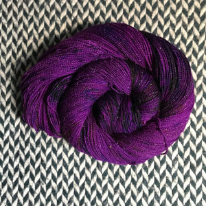 ELECTROPOP -- Broadway sparkle sock yarn -- ready to ship