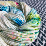 THE COLOR PARROT -- Greenwich Village DK merino yarn-- ready to ship