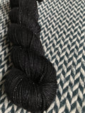 BLACKBIRD -- Tribeca sparkle DK yarn -- ready to ship