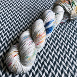 BEJEWELED MOONSTONE -- Greenwich Village merino DK yarn -- ready to ship