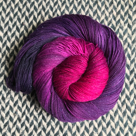 ORCHID MANTIS -- dyed to order yarn
