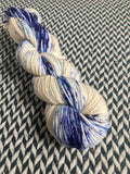 WHITE JEANS -- dyed to order yarn