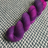 ORCHID MANTIS -- Harlem sock yarn -- ready to ship
