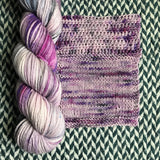 LILAC BAY -- Brooklyn Bridge worsted yarn -- ready to ship