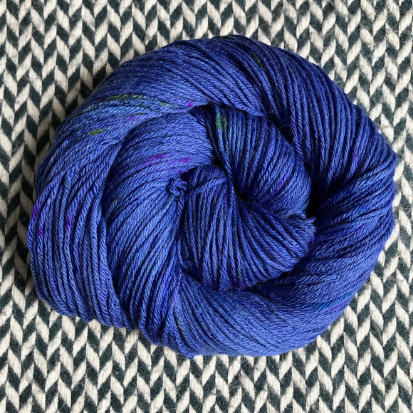 DON'T PANIC, PEACOCK -- Brooklyn Bridge worsted weight yarn -- ready to ship