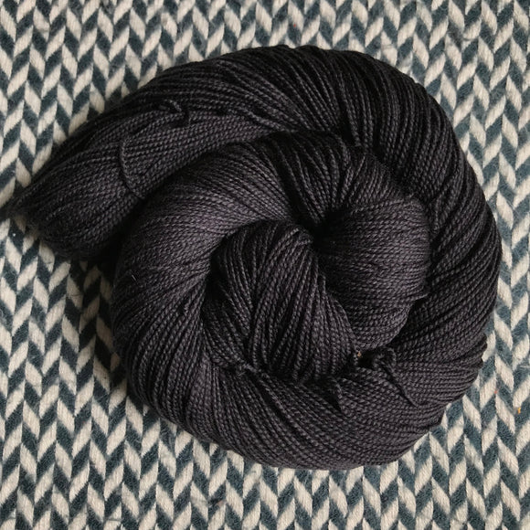 BLACKBIRD -- Harlem sock yarn -- ready to ship