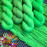 ABSINTHE LUMINEUSE -- dyed to order yarn