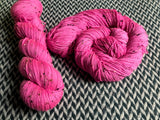 ROSE CHOQUANT -- Alphabet City tweed sock yarn -- ready to ship