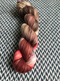 METALMARK SHARK -- Greenwich Village DK yarn -- ready to ship