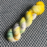 SWORDTAIL SEAHORSE -- Broadway sparkle sock yarn -- ready to ship