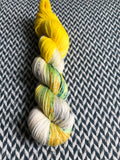 SWORDTAIL SEAHORSE -- Times Square sock yarn -- ready to ship