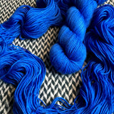 ECLAIR BLEU -- Greenwich Village merino DK yarn -- ready to ship