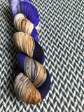 HAIRSTREAK EEL -- Times Square sock yarn -- ready to ship