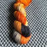 MONARCH CLOWNFISH -- Greenwich Village DK yarn -- ready to ship