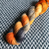 MONARCH CLOWNFISH -- Times Square sock yarn -- ready to ship