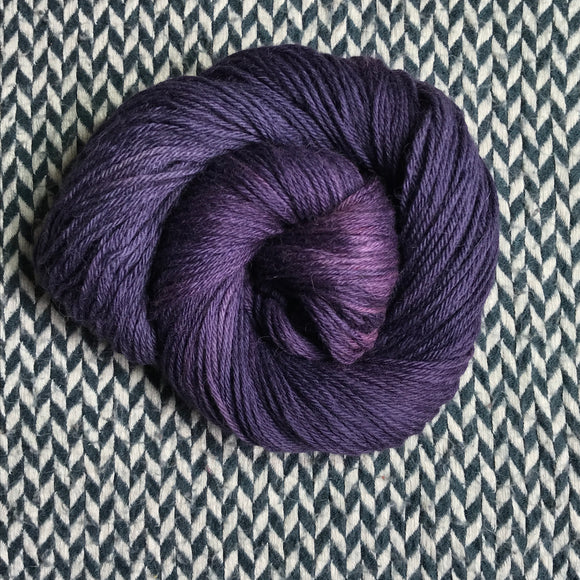 BLACK OPAL -- Central Park alpaca sport -- ready to ship