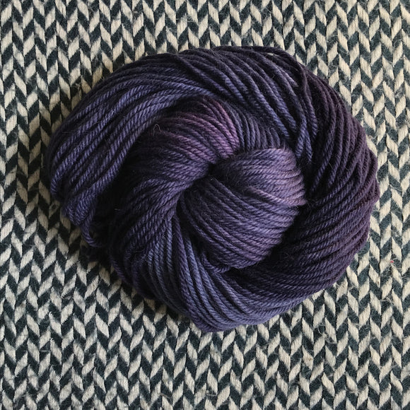 BERRY SMOOTHIE -- Park Ave silk lace yarn -- ready to ship