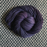 BLACK OPAL -- Pelican Bay alpaca bulky yarn -- ready to ship