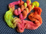WALKING ON THE SUN -- Kew Gardens DK yarn -- ready to ship