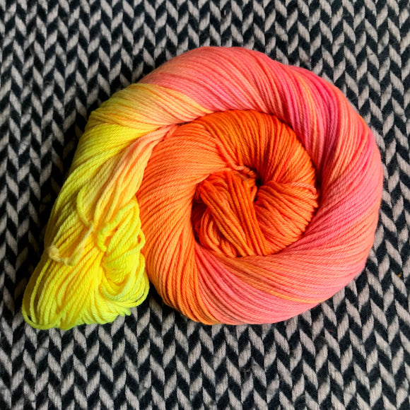 WALKING ON THE SUN -- dyed to order yarn