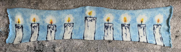 BLESSINGS -- hand-painted sock blank -- dyed to order yarn