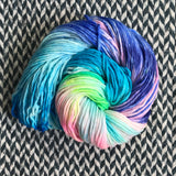 DEVOURER OF WORLDS -- Times Square sock yarn -- ready to ship