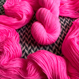 ROSE CHOQUANT -- dyed to order yarn
