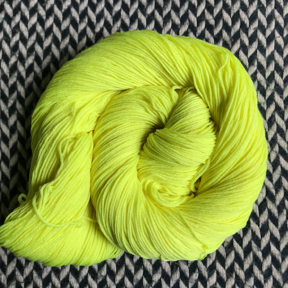 CITRON TOXIQUE -- Times Square sock yarn -- ready to ship