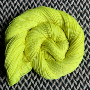 CITRON TOXIQUE -- Randall's Island sport yarn -- ready to ship