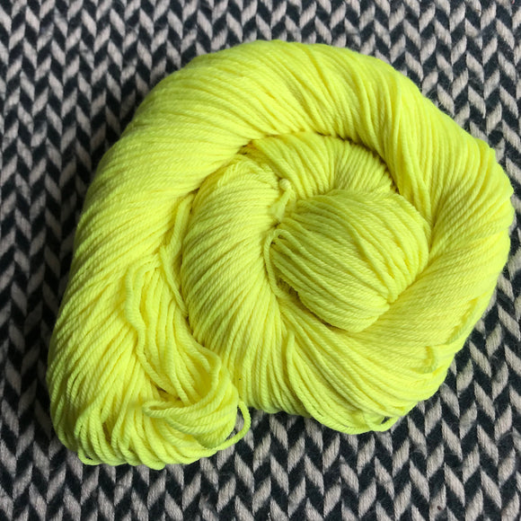 CITRON TOXIQUE -- dyed to order yarn