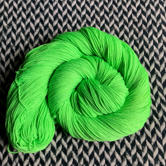 ABSINTHE LUMINEUSE -- Times Square sock yarn -- ready to ship