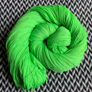 ABSINTHE LUMINEUSE -- Broadway sparkle sock yarn -- ready to ship