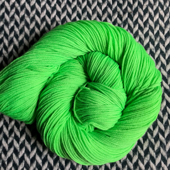 ABSINTHE LUMINEUSE -- Randall's Island sport yarn -- ready to ship
