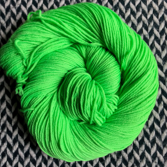 ABSINTHE LUMINEUSE -- Kew Gardens DK yarn -- ready to ship