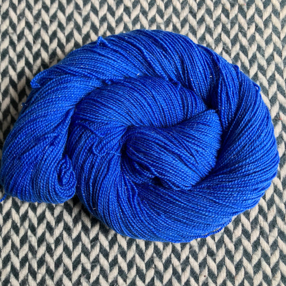 ECLAIR BLEU -- dyed to order yarn