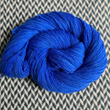 ECLAIR BLEU -- Broadway sparkle sock yarn -- ready to ship