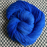 ECLAIR BLEU -- Astoria merino/alpaca/nylon fingering yarn -- ready to ship