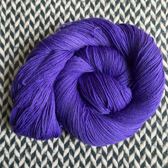 VIOLET VENIMEUX -- Times Square sock yarn -- ready to ship